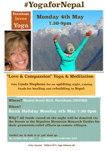 Yoga for Nepal